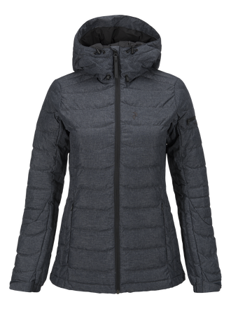 Damen Blackburn Skijacke Salute Blue | Peak Performance