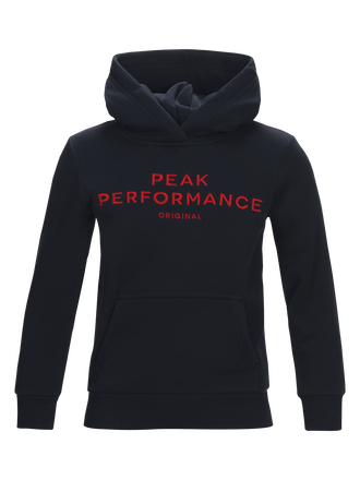 Kids Logo Hoodie Salute Blue | Peak Performance