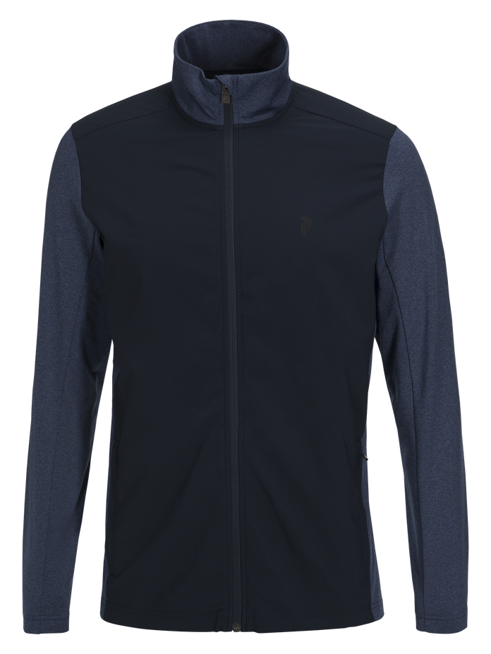 Men's Ace Hybrid Mid Jersey Salute Blue | Peak Performance
