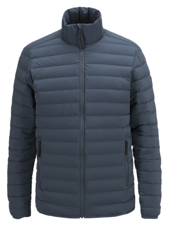 Herren Stretch Daunen Linerjacke Blue Steel | Peak Performance