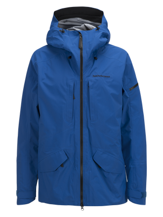 Men's Teton Ski Jacket True Blue | Peak Performance