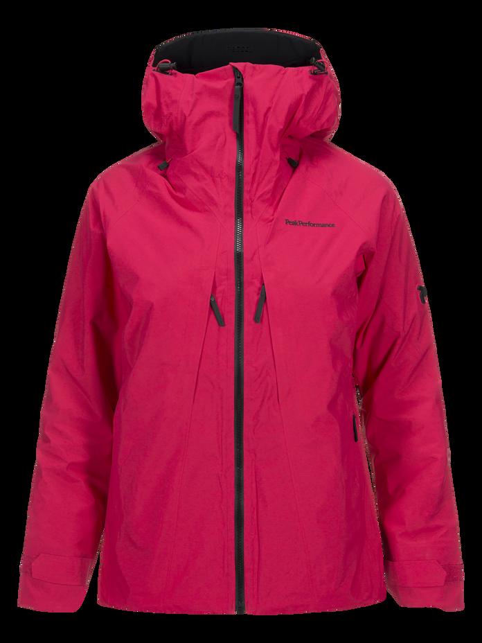 Women's Teton 2-Layer Ski Jacket Pink Planet | Peak Performance