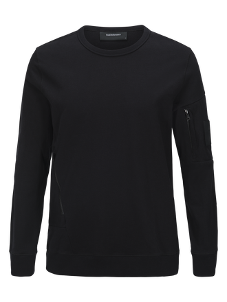 Men's Scrill Crew neck Black | Peak Performance