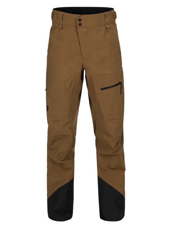 Alpine herrskidbyxor Honey Brown | Peak Performance