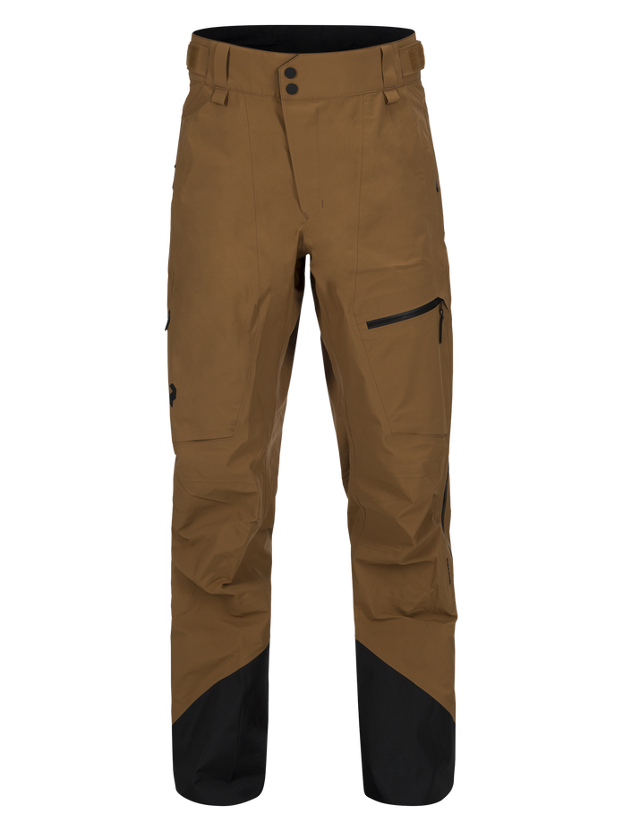 Men's Alpine Ski Pants Honey Brown | Peak Performance