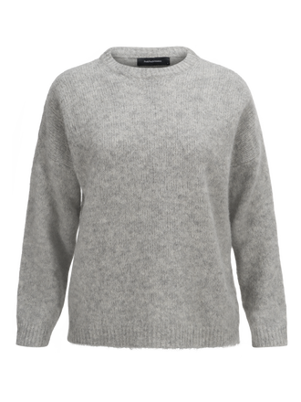 Women's Laine Crew neck Med Grey Mel | Peak Performance