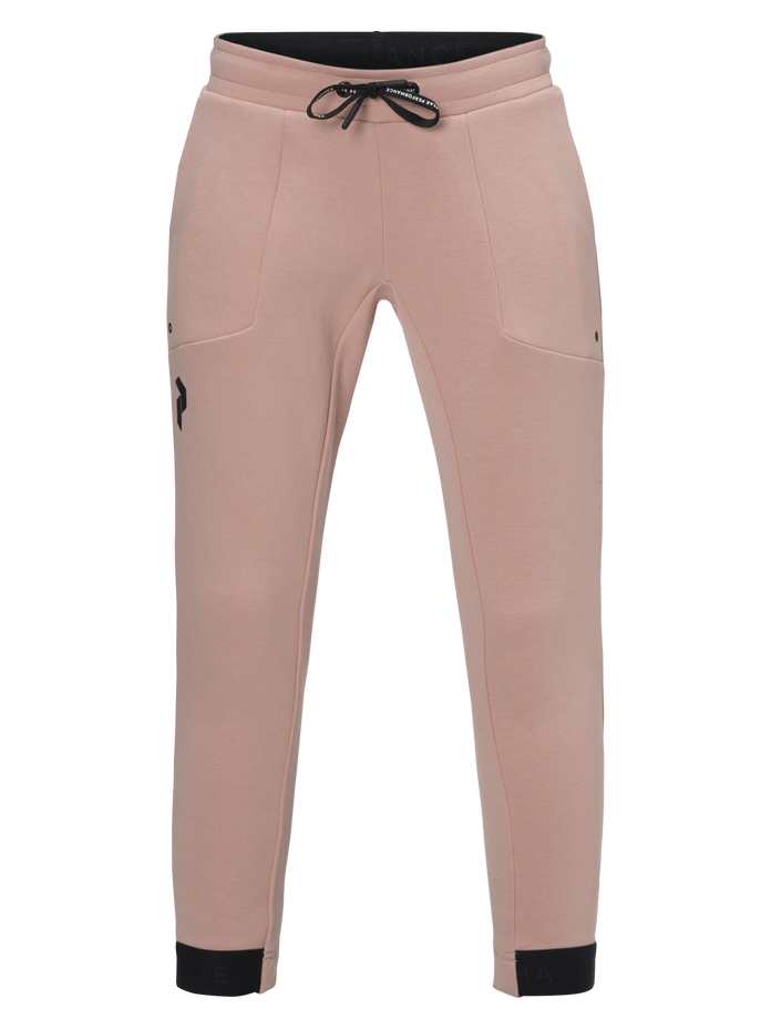 Kids Tech Pants Softer Pink | Peak Performance