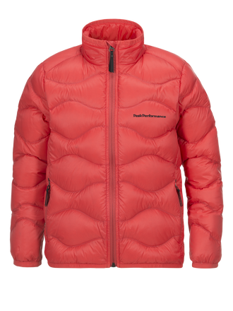 Kids Helium Jacket Pink Flow | Peak Performance
