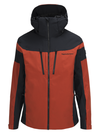 Men's Lanzo  SkiJacket Orange Planet | Peak Performance