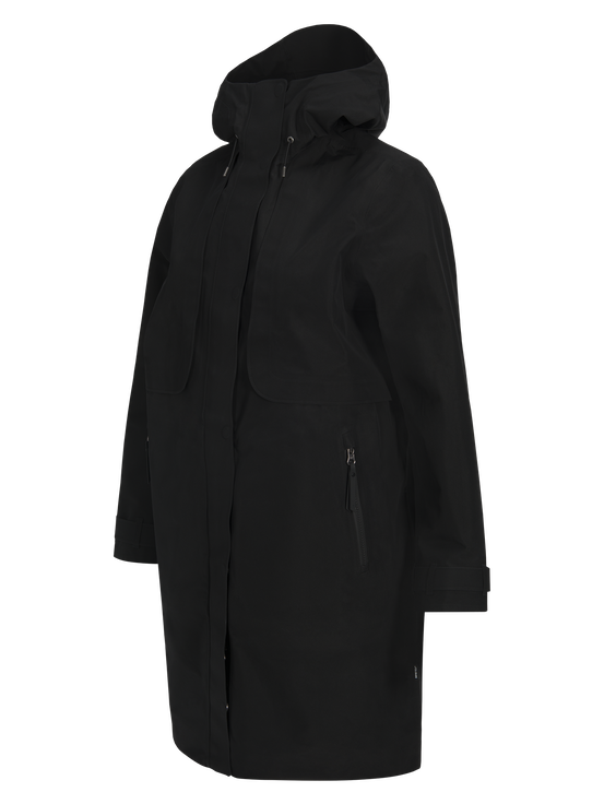 Women's Mist Coat Black | Peak Performance