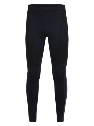 Men's Block Running Tights Salute Blue | Peak Performance