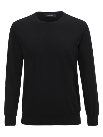 Men's James Crew neck Black | Peak Performance