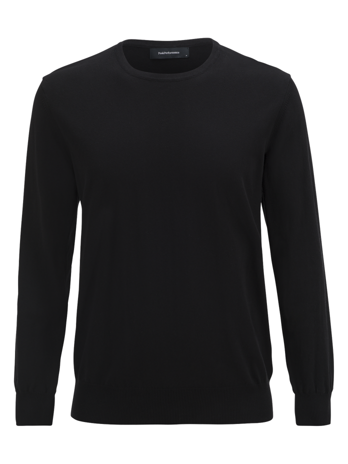 Herren James Rundhalsausschnitt Black | Peak Performance