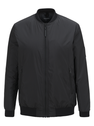 Men's Troop Bomber Jacket Black | Peak Performance