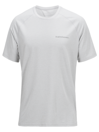 Men's Civil Comfy T-shirt Med Grey Mel | Peak Performance