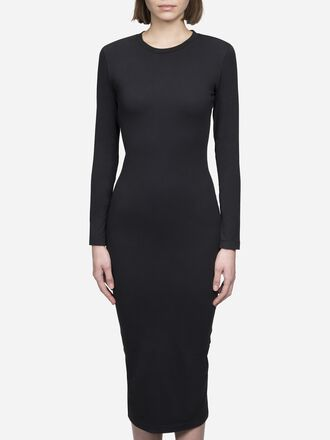Damen Tech Club Kleid Black | Peak Performance