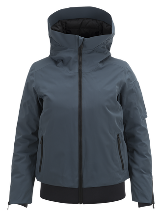 Blouson de ski femme Showdown Blue Steel | Peak Performance