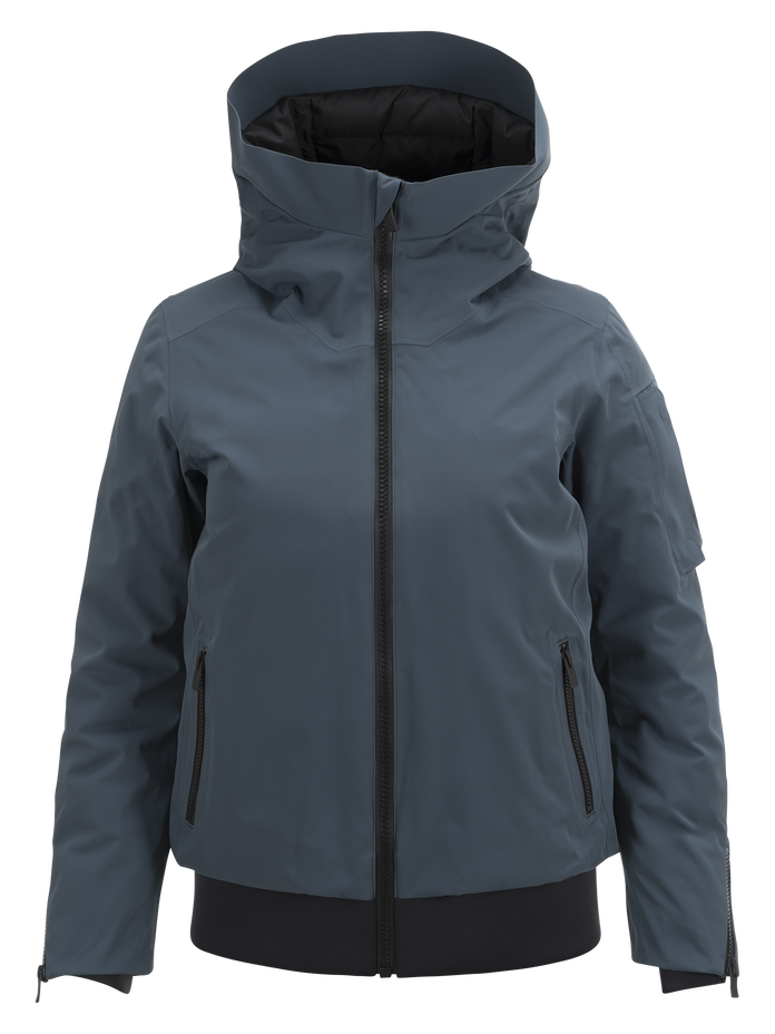 Women's Showdown Ski Jacket Blue Steel | Peak Performance
