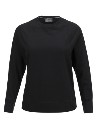 Women's Tech Lite Crew neck Black | Peak Performance