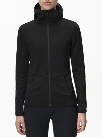 Women's Helo Hooded Mid Jacket Black | Peak Performance