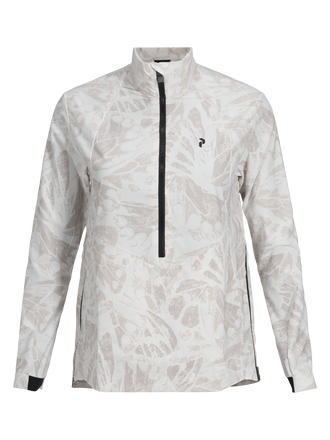 Women's Golf Warrington Printed Wind Anorak Pattern | Peak Performance