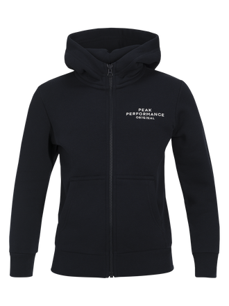 Kids Zipped Hooded Sweater Salute Blue | Peak Performance