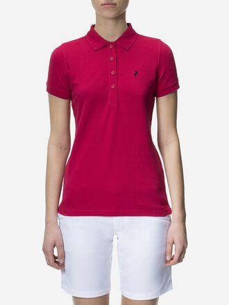 Damen Golf Poloshirt  True Pink | Peak Performance