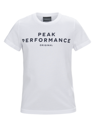 Kids Kurzärmliges T-Shirt White | Peak Performance