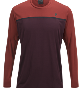 T-shirt de running à manches longues homme Rucker