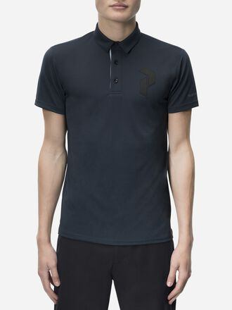 Men's Golf Panmore Polo Salute Blue | Peak Performance
