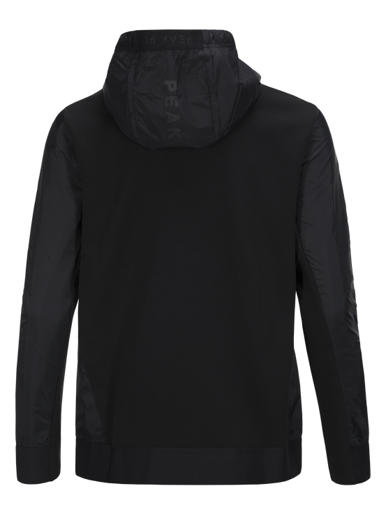 Men's Tech Nylon Zipped Hood Black | Peak Performance