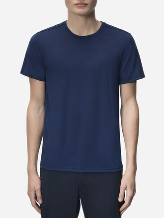 Civil Merino t-shirt för herrar Thermal Blue | Peak Performance