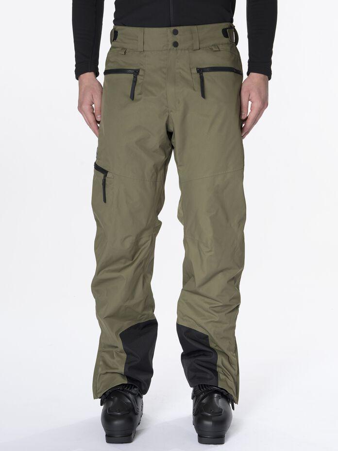 Men's Shawnee 2-Layer Shell Ski Pants Soil Olive | Peak Performance