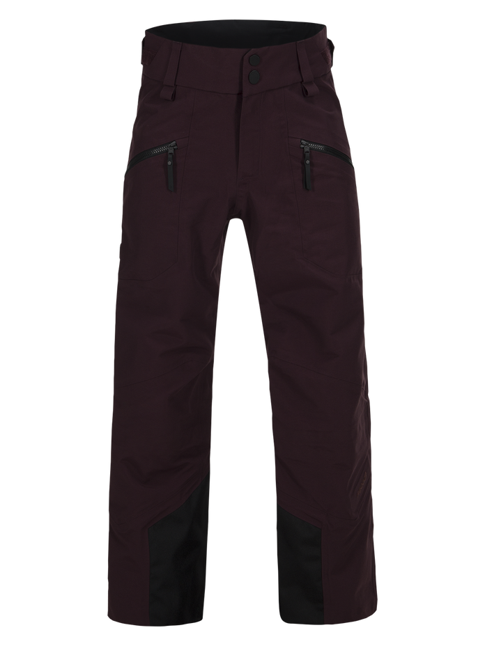 Kids Radical 3-layer Ski Pants Mahogany | Peak Performance