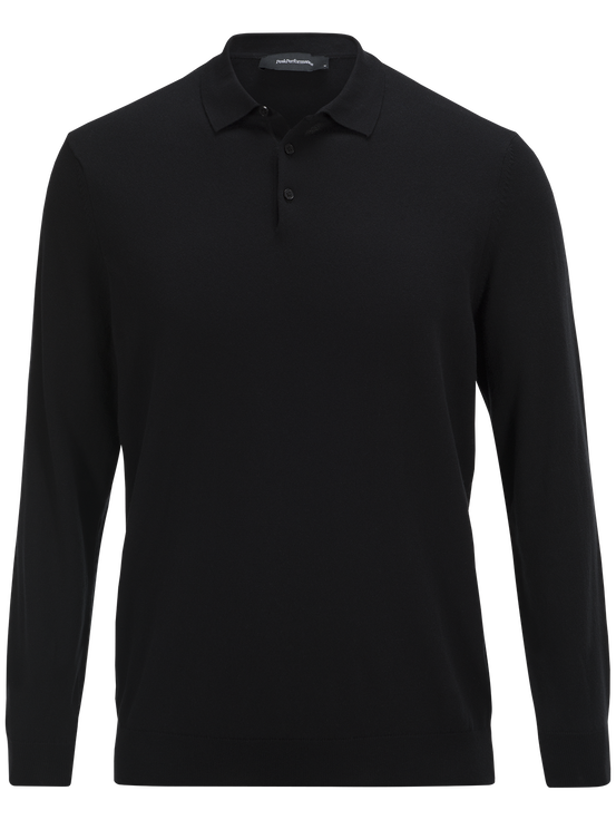 David långärmad t-shirt för herrar Black   Peak Performance