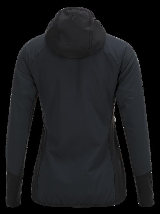 Hybrid tunn damskidjacka Black | Peak Performance