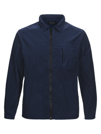 Chemise-blouson en nylon homme Work Thermal Blue | Peak Performance