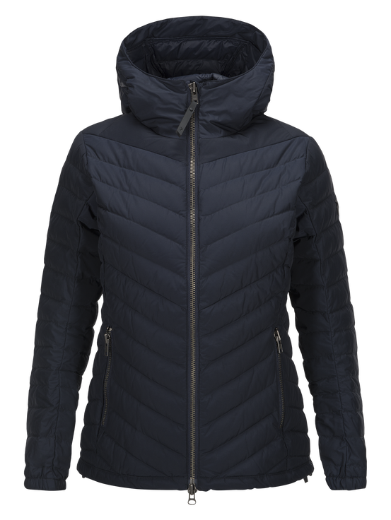 Women's Frost City Jacket Salute Blue | Peak Performance