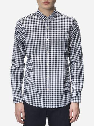 Men's Dean Chequered Shirt Pattern | Peak Performance