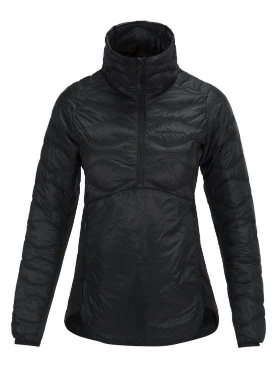 Women's Helium Hybrid Liner Anorak Black | Peak Performance