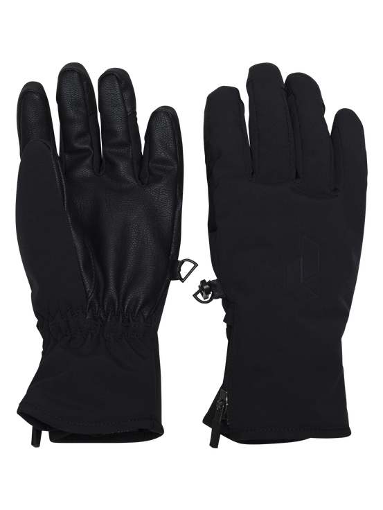 Unite barnhandskar Black | Peak Performance