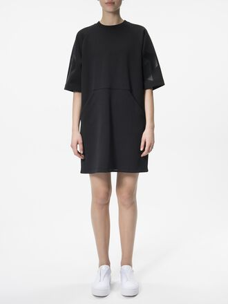 Damen Tech kurzärmliges Kleid Black | Peak Performance