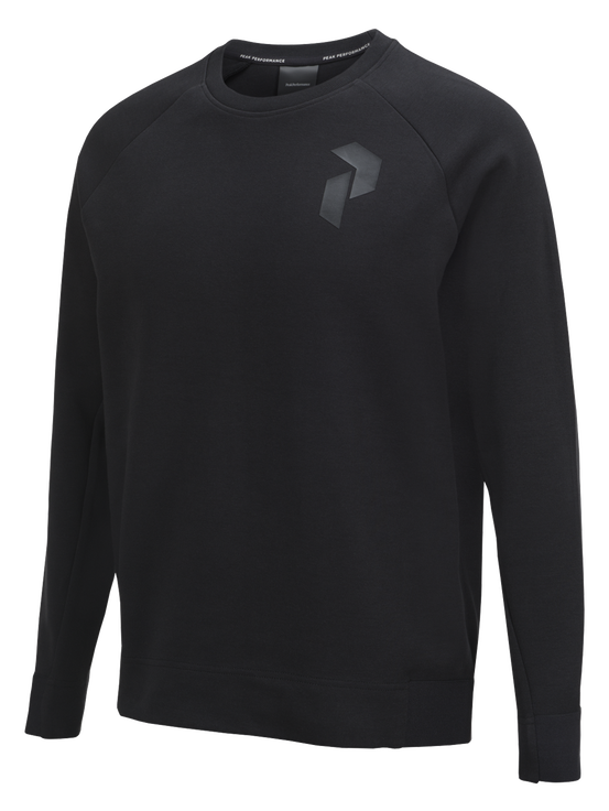 Men's Tech Crew Neck Black | Peak Performance