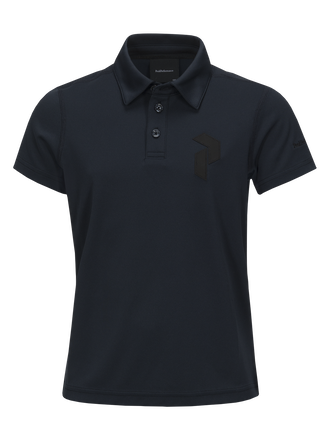 Polo de golf Panmore Enfants Salute Blue | Peak Performance