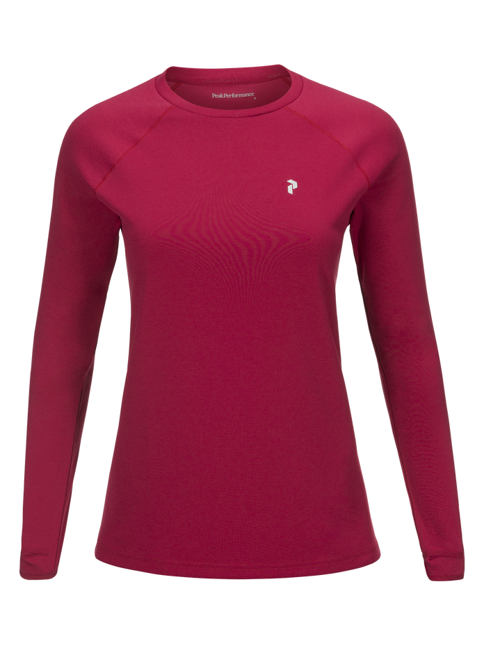 Women's Power Crew neck True Pink | Peak Performance