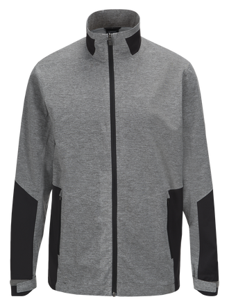 Men's Golf Course Melange Jackets Grey melange | Peak Performance