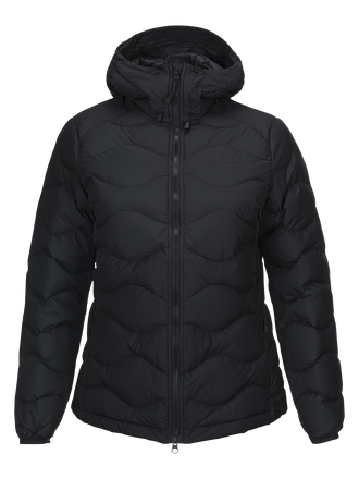 Damen Winter Helium Mit Kapuze Jacke Black | Peak Performance