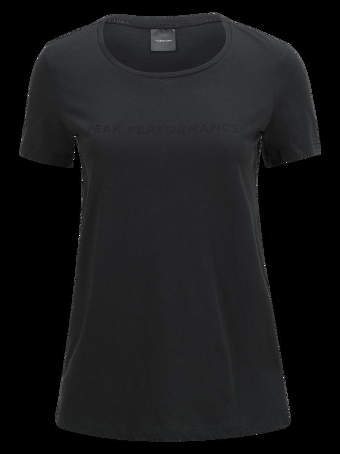 Track t-shirt för damer Black   Peak Performance