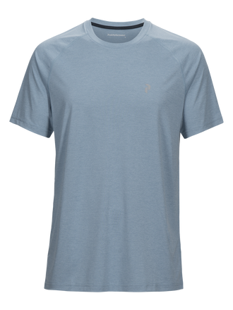 Fly t-shirt för herrar Downy Blue | Peak Performance