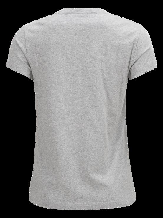 T-shirt femme Logo Med Grey Mel | Peak Performance